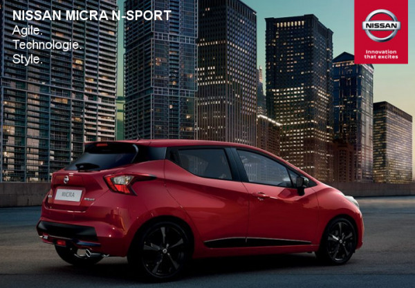Nissan Micra N-SPORT. - Concession NISSAN Cahors